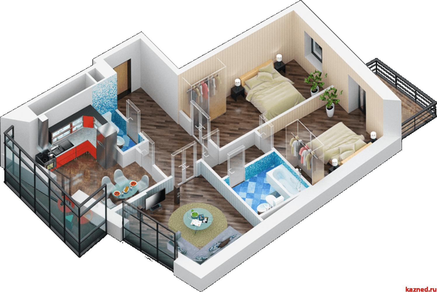 Продажа 3-к квартиры дубравная 28А, 83 м2  (миниатюра №4)