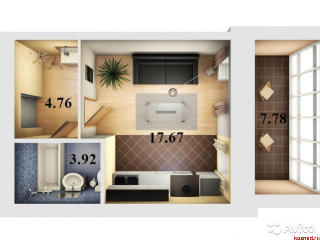 Продажа 1-к квартиры Даурская д 46 ЖК ЖУРАВЛИ, 31 м² (миниатюра №1)