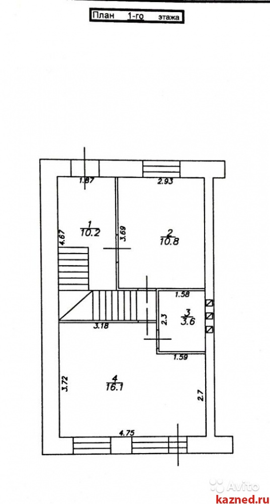Продажа  Дома Северный, Шомыртлы, 82 м2  (миниатюра №9)