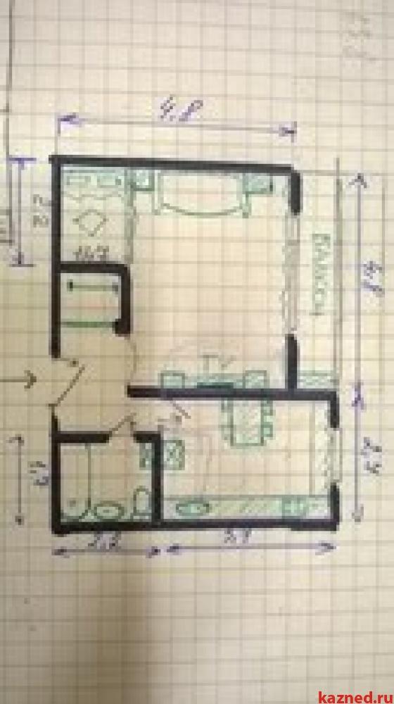 Продам 1-комн.квартиру Осиново, ул. Гагарина, 8, 36 м2  (миниатюра №3)