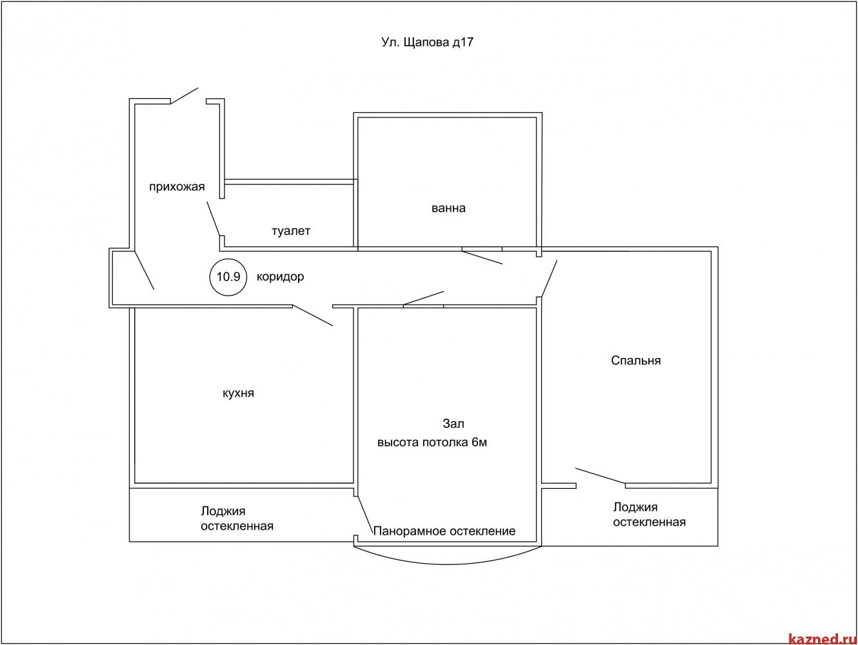 Продажа 2-к квартиры Щапова 17, 88 м² (миниатюра №5)