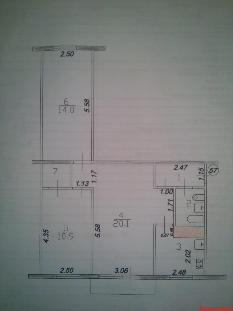 Продажа 3-к квартиры Белинского д.33, 59 м² (миниатюра №9)