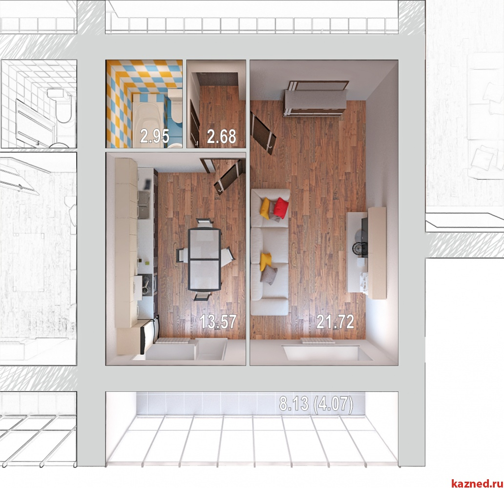 Жилой дом по ул.Отрадная,48 (миниатюра №2)