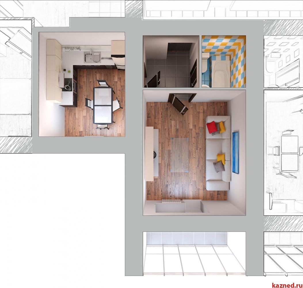 Продажа 1-к квартиры Отрадна, 48, 44 м²  (миниатюра №1)