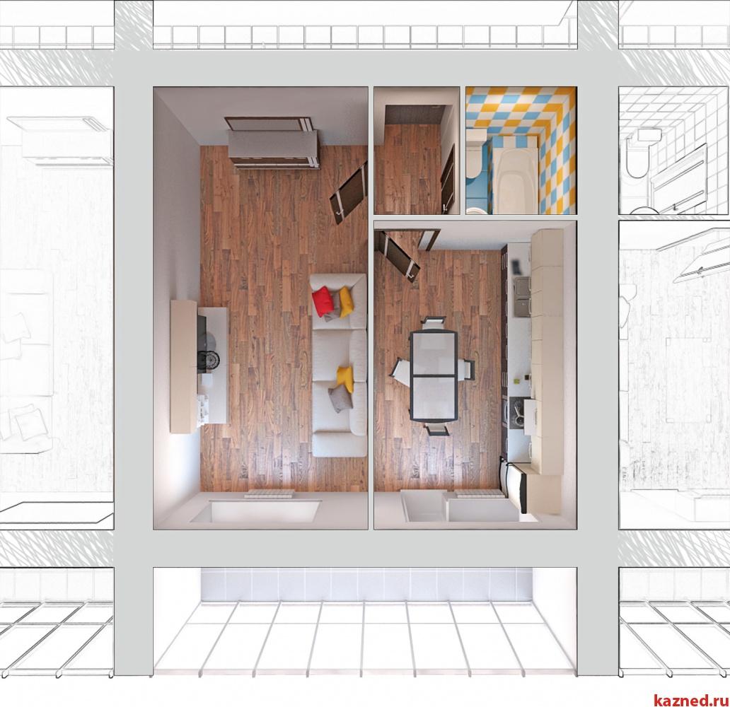 Продажа 1-к квартиры Отрадна, 48, 43 м2  (миниатюра №1)