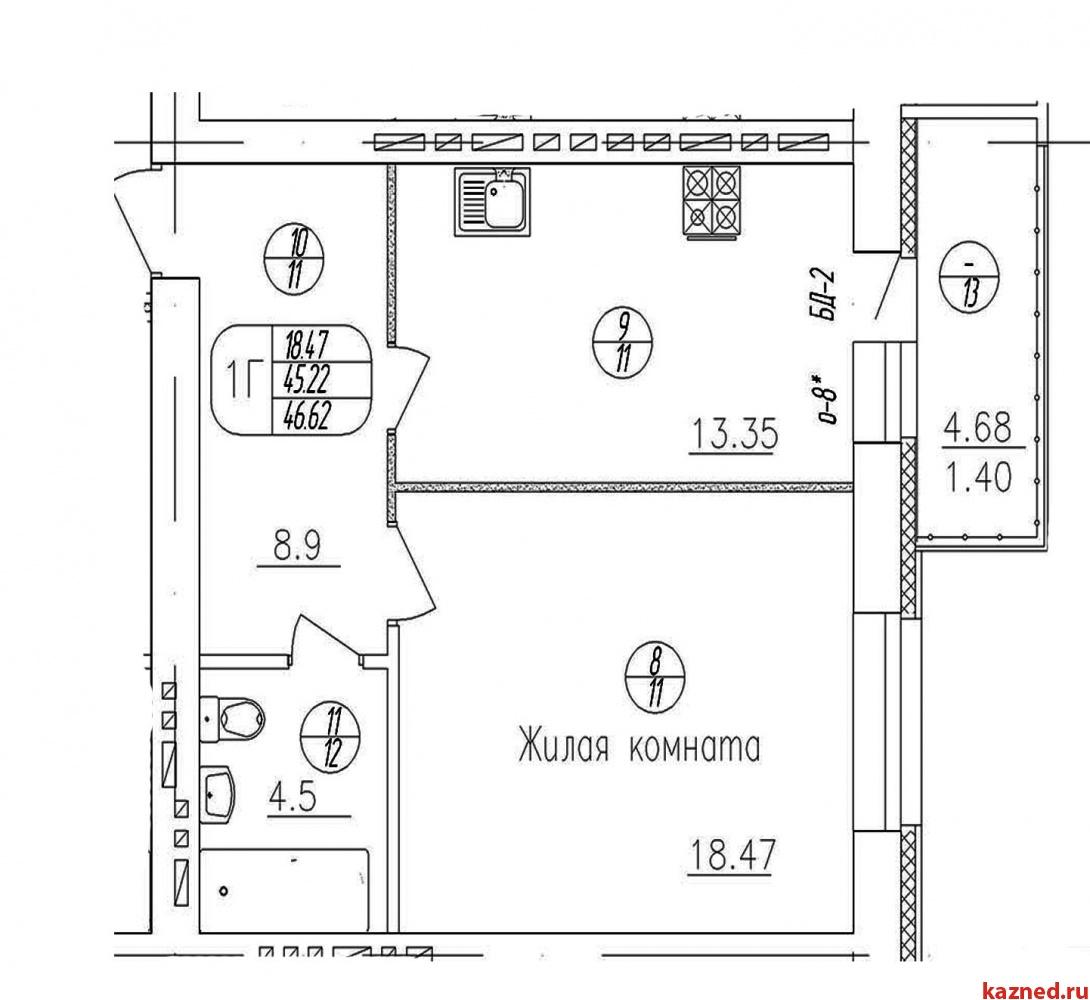 Продажа 1-к квартиры копылова 9, 47 м2  (миниатюра №2)
