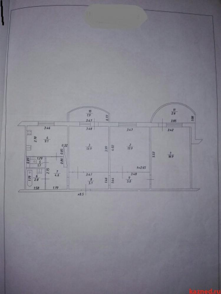 Продажа 3-к квартиры Осиново, ул. Гайсина, 6, 78 м2  (миниатюра №9)