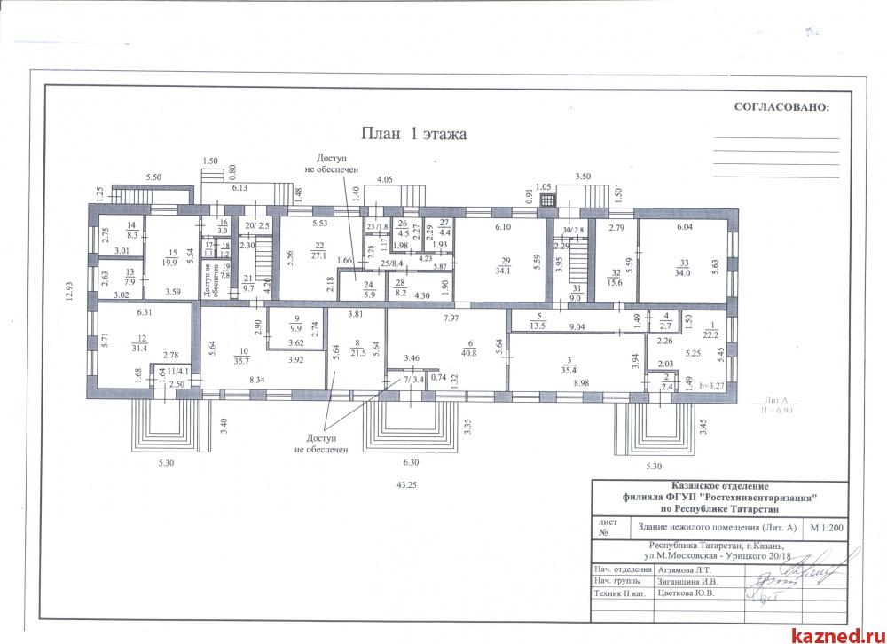 Продам офисно-торговое помещение ул.Мало-Московская, д.24а, 1377 м2  (миниатюра №6)