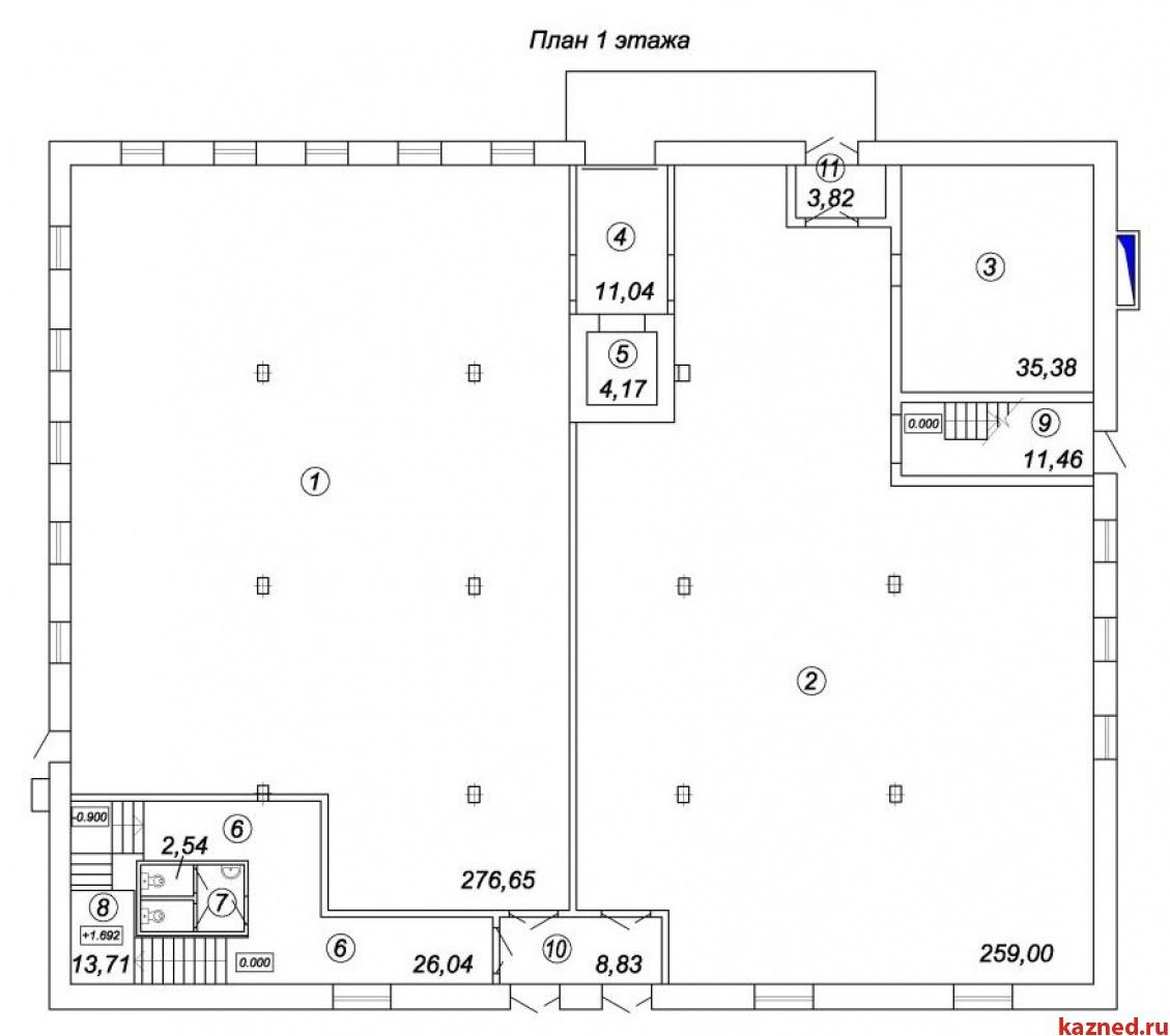 Продажа  склады, производства Восстания 100, 2036 м² (миниатюра №2)