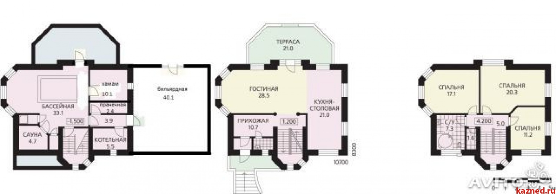 Продажа дом ул.Дорожная, 250 м2  (миниатюра №17)