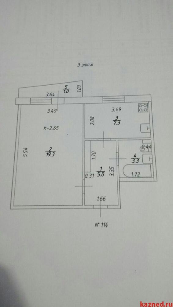 Продажа 1-к квартиры Академика Сахарова д.31, 36 м2  (миниатюра №1)