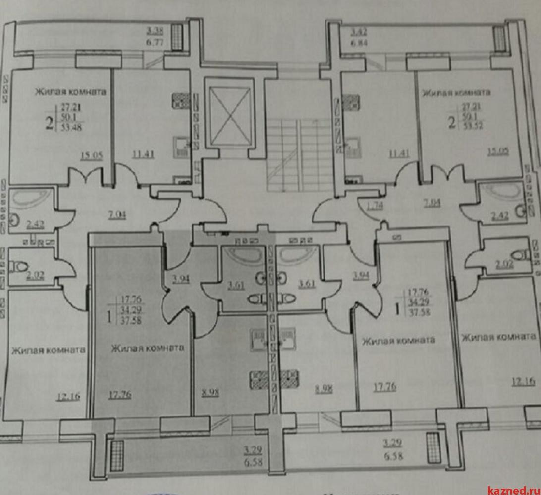 Продажа 1-к квартиры Даурская ул. 44 в, 38 м² (миниатюра №9)