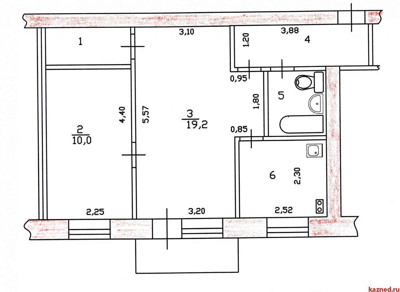 Продажа 2-к квартиры Химиков,39, 46 м² (миниатюра №4)