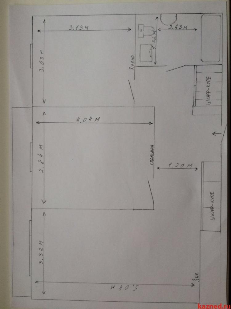 Продажа 2-к квартиры Дубравная д.49, 53 м²  (миниатюра №3)