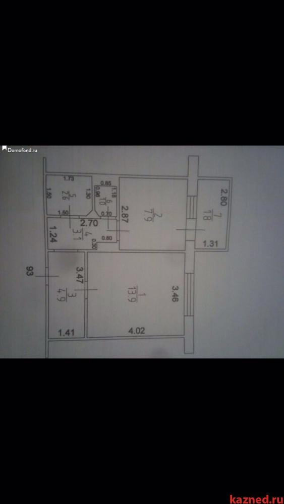 Продажа 1-к квартиры Джаудата Файзи д.10А, 36 м² (миниатюра №13)