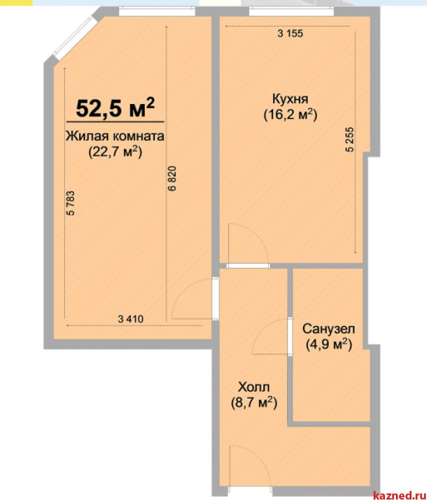 Продажа 1-к квартиры ЖК Светлый пос.Куюки, 52 м² (миниатюра №16)
