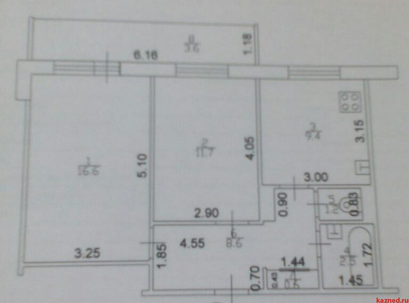 Продажа 2-к квартиры Рихарда Зорге ул, 121, 54 м² (миниатюра №8)