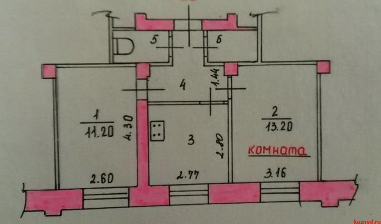 2-комн квартира ул. Белинского, 6 (миниатюра №1)