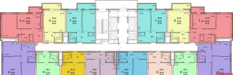 Продажа 1-к квартиры Оренбургский тракт, Дом 1.1 (Кипарис), 29 м2  (миниатюра №2)