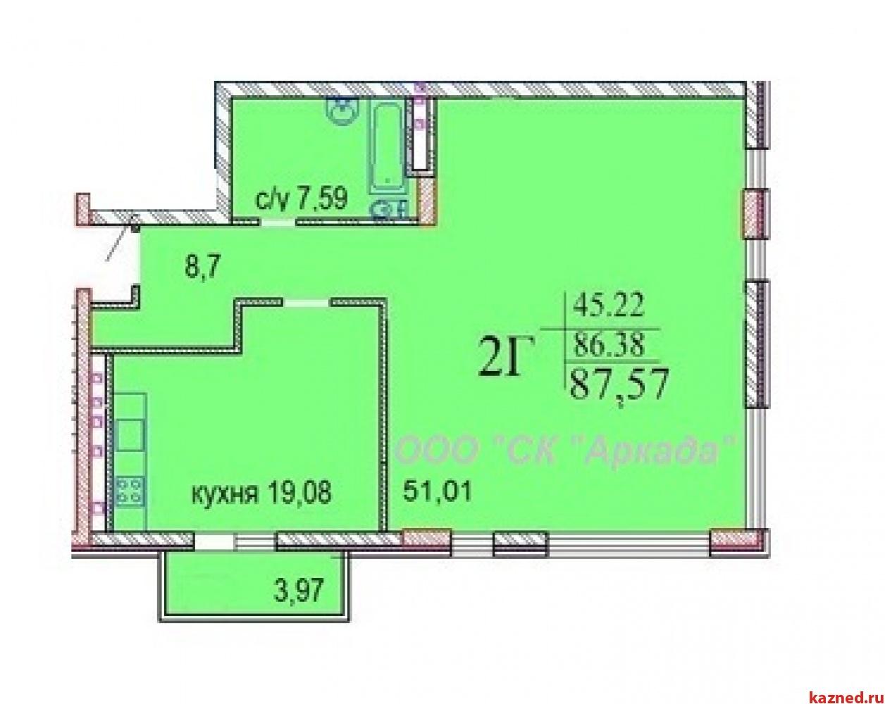 Продажа 3-к квартиры Шуртыгина, д. 7, 88 м2  (миниатюра №2)