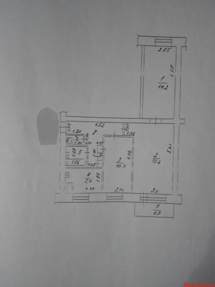 Продажа 3-к квартиры Осиново, ул. Центральная, 5, 61 м² (миниатюра №1)