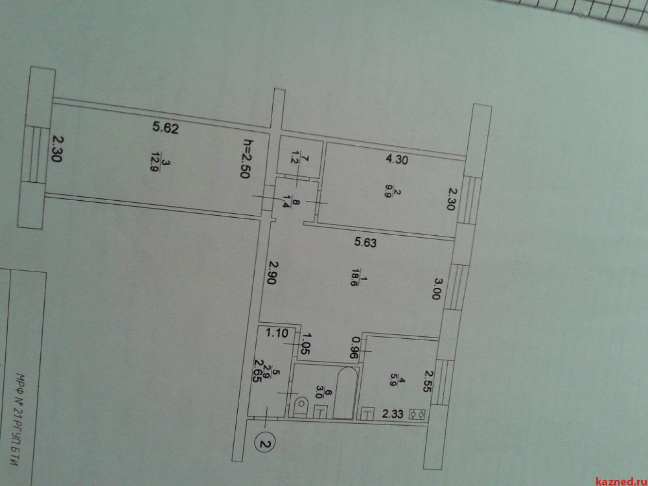 Продажа 3-к квартиры Восстания 19, 56 м²  (миниатюра №2)