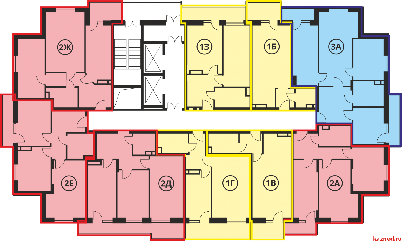 Продажа 1-к квартиры Профессора Камая, 53 м² (миниатюра №5)