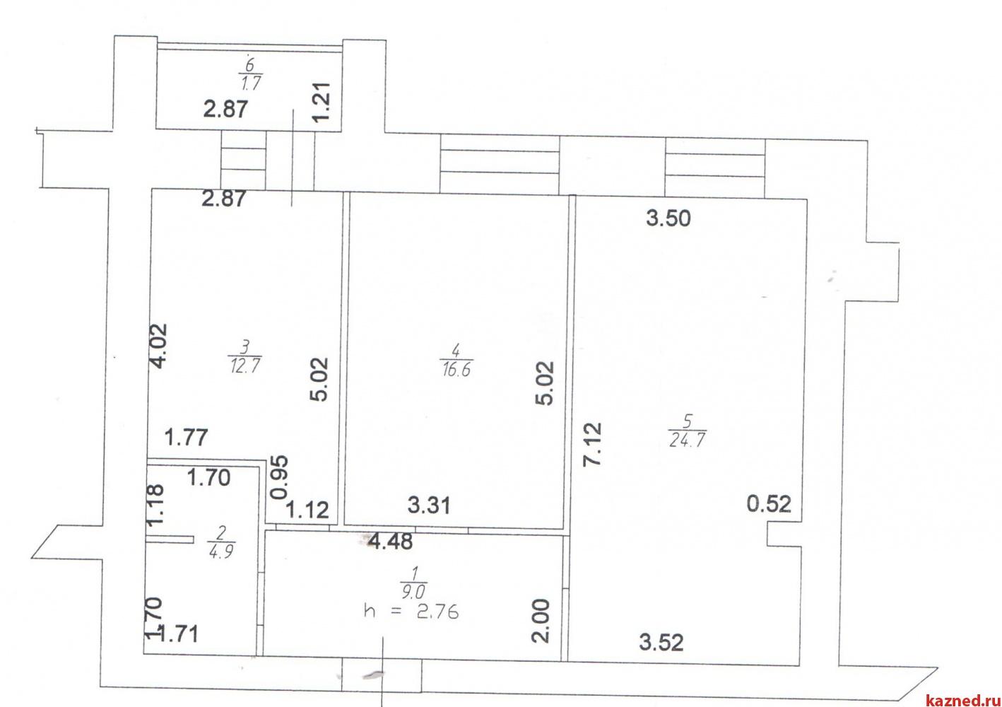 Продажа 2-к квартиры Серова, 51, 69 м²  (миниатюра №3)