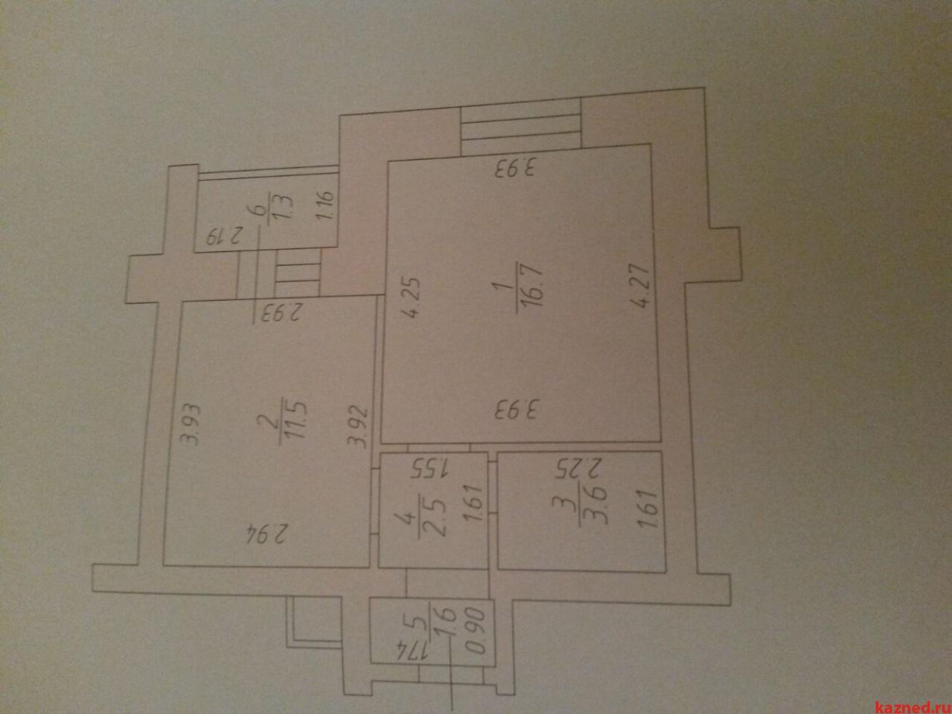 Продажа 1-к квартиры Чистопольская 64, 37 м² (миниатюра №6)