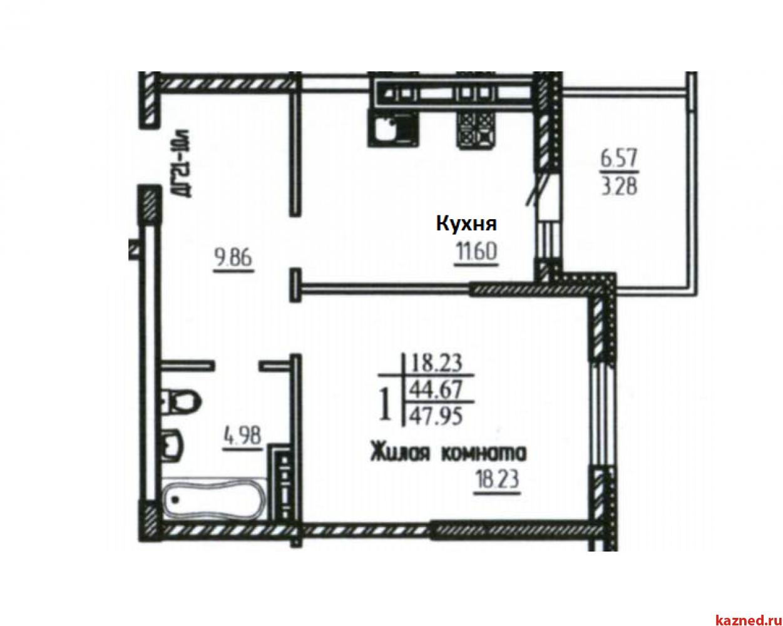 Продажа 1-к квартиры Шуртыгина 8, 49 м2  (миниатюра №2)