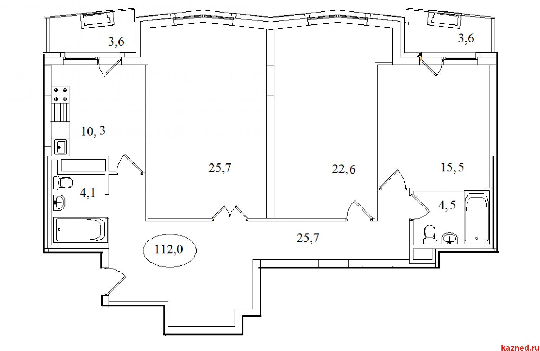 Продажа 3-к квартиры Айвазовского, 16, 112 м2  (миниатюра №2)