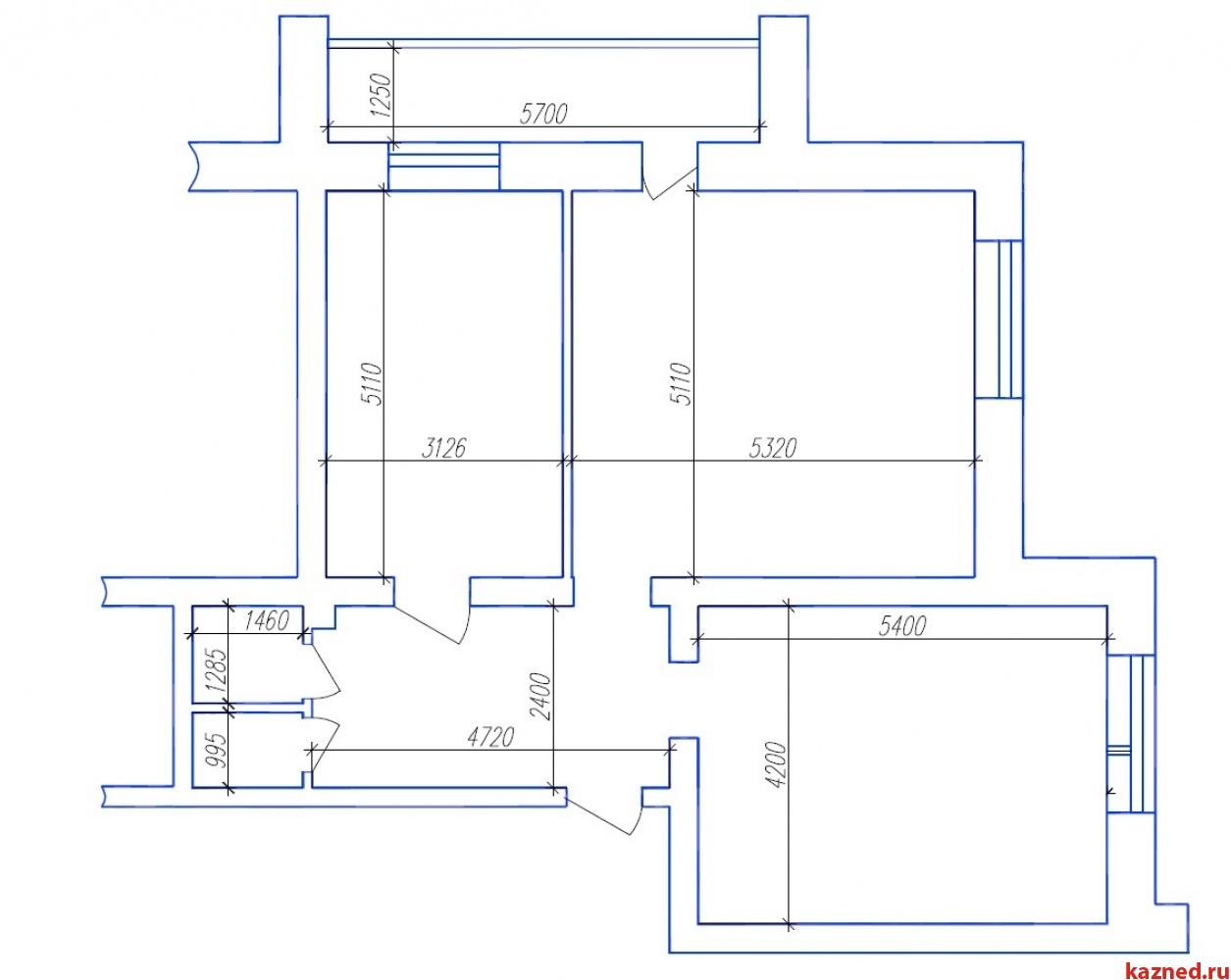 Продажа 1-к квартиры Аделя кутуя 44, 80 м² (миниатюра №7)