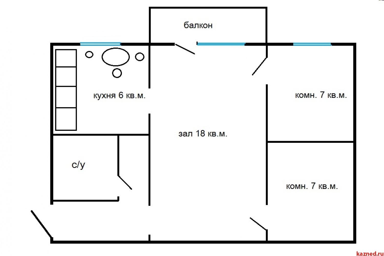 Продажа 2-к квартиры Латышских стрелков 7, 46 м² (миниатюра №8)