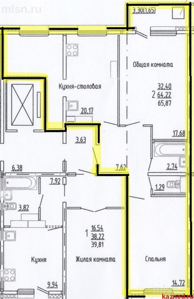 Продажа 2-к квартиры Привокзальная 52, 66 м² (миниатюра №9)