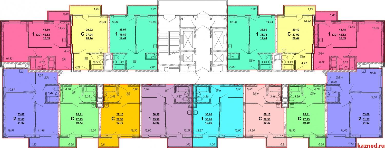 Продажа 1-к квартиры Рауиса Гареева, 37 м2  (миниатюра №1)