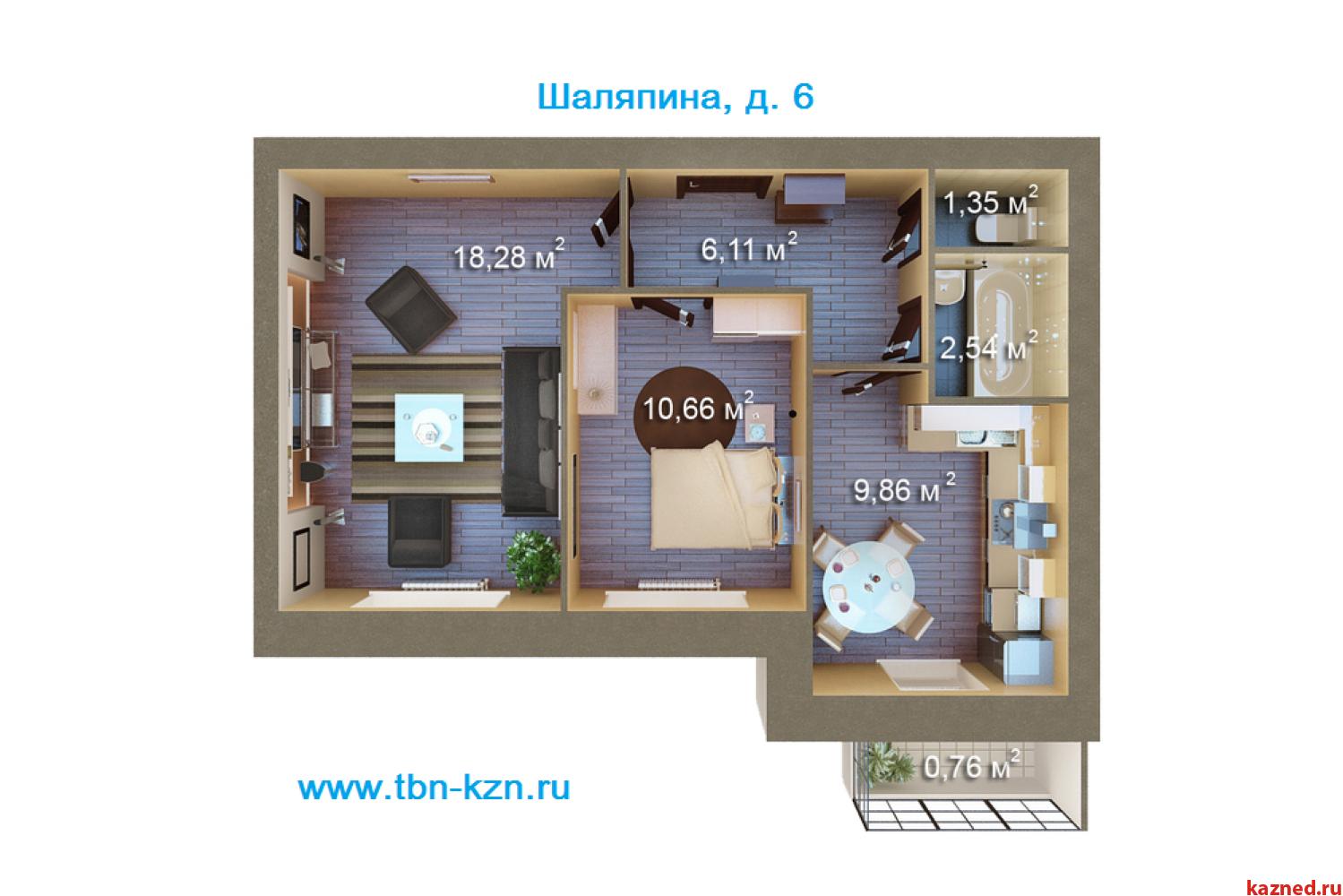 Продажа 1-комн.квартиру Царево, 29 м2  (миниатюра №6)