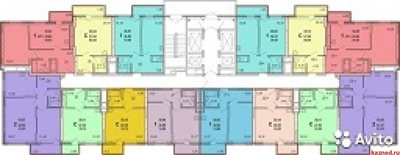 Продажа 1-к квартиры Оренбургский тракт, 44 м²  (миниатюра №2)
