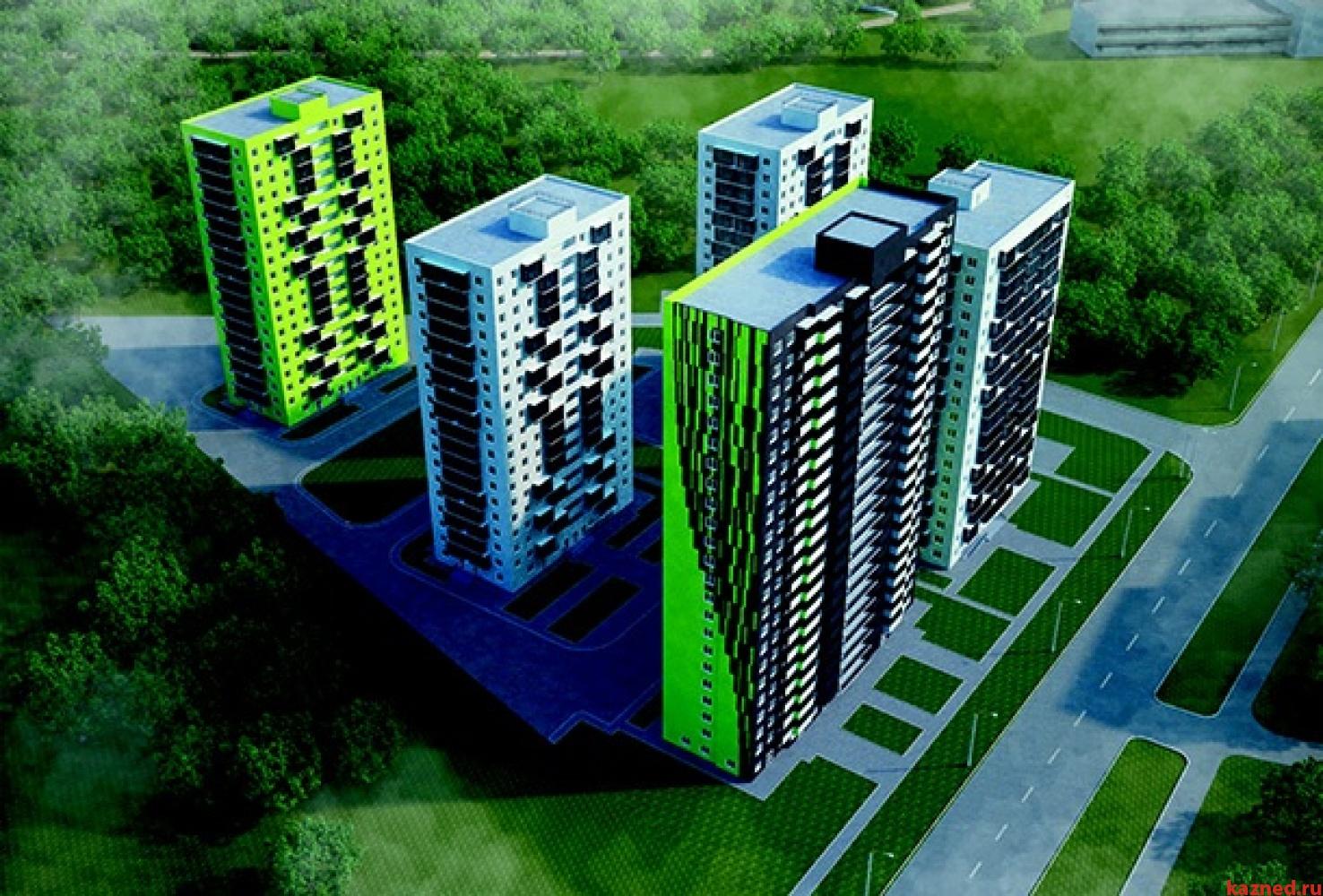 Продажа 2-к квартиры Оренбургский тракт, 54 м² (миниатюра №3)