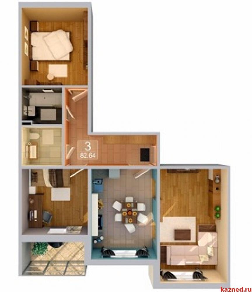 Продажа 3-к квартиры Рахлина, 82 м2  (миниатюра №1)