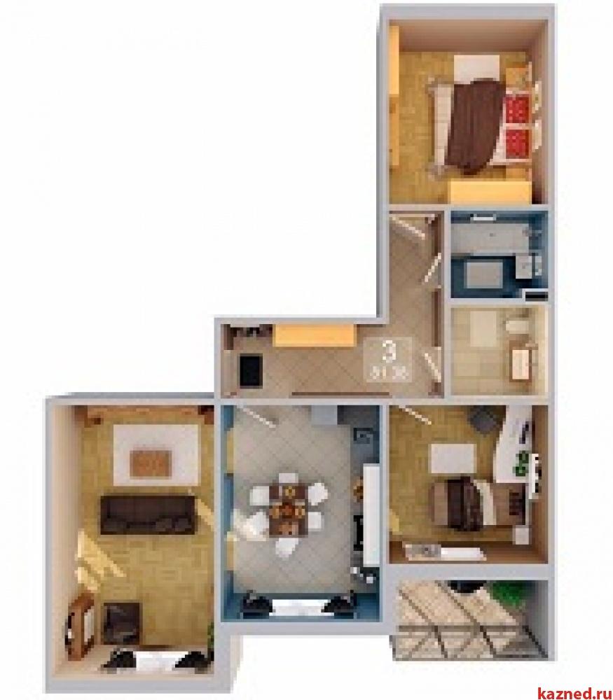 Продажа 3-к квартиры Рахлина, 82 м2  (миниатюра №2)