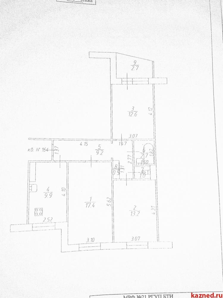 Продажа 3-к квартиры Лукина, 16, 69 м² (миниатюра №23)