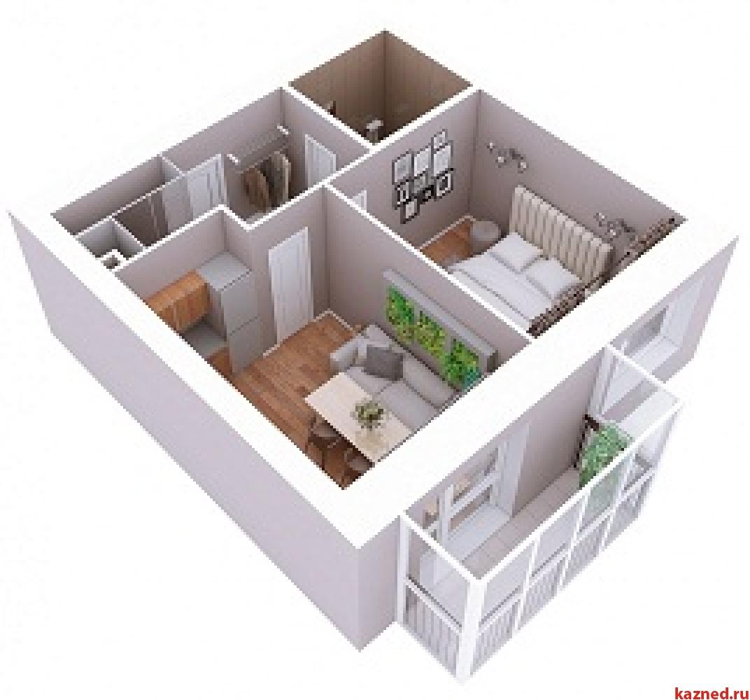 Продажа 1-к квартиры Мамадышский тракт, 3, 38 м² (миниатюра №1)