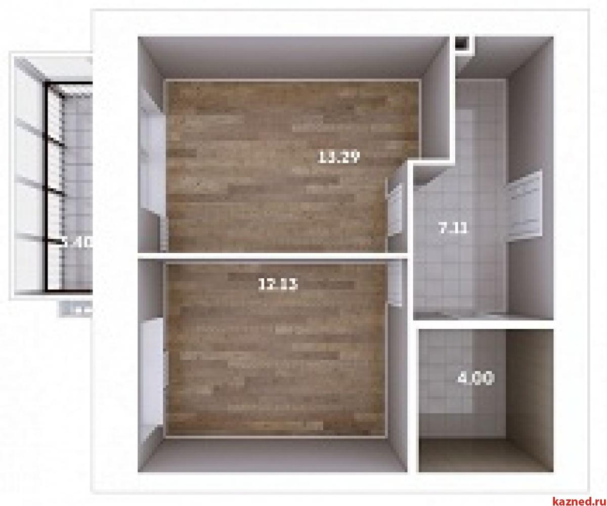 Продажа 1-к квартиры Мамадышский тракт, 3, 38 м² (миниатюра №3)