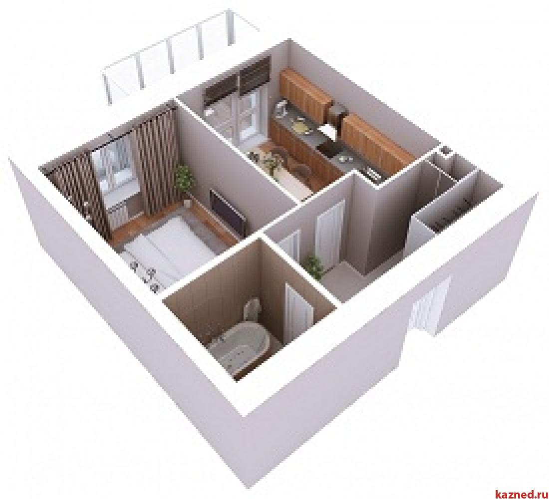 Продажа 1-к квартиры Мамадышский тракт, 3, 38 м² (миниатюра №5)