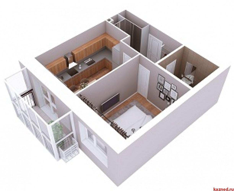 Продажа 1-к квартиры Мамадышский тракт, 3, 38 м² (миниатюра №4)