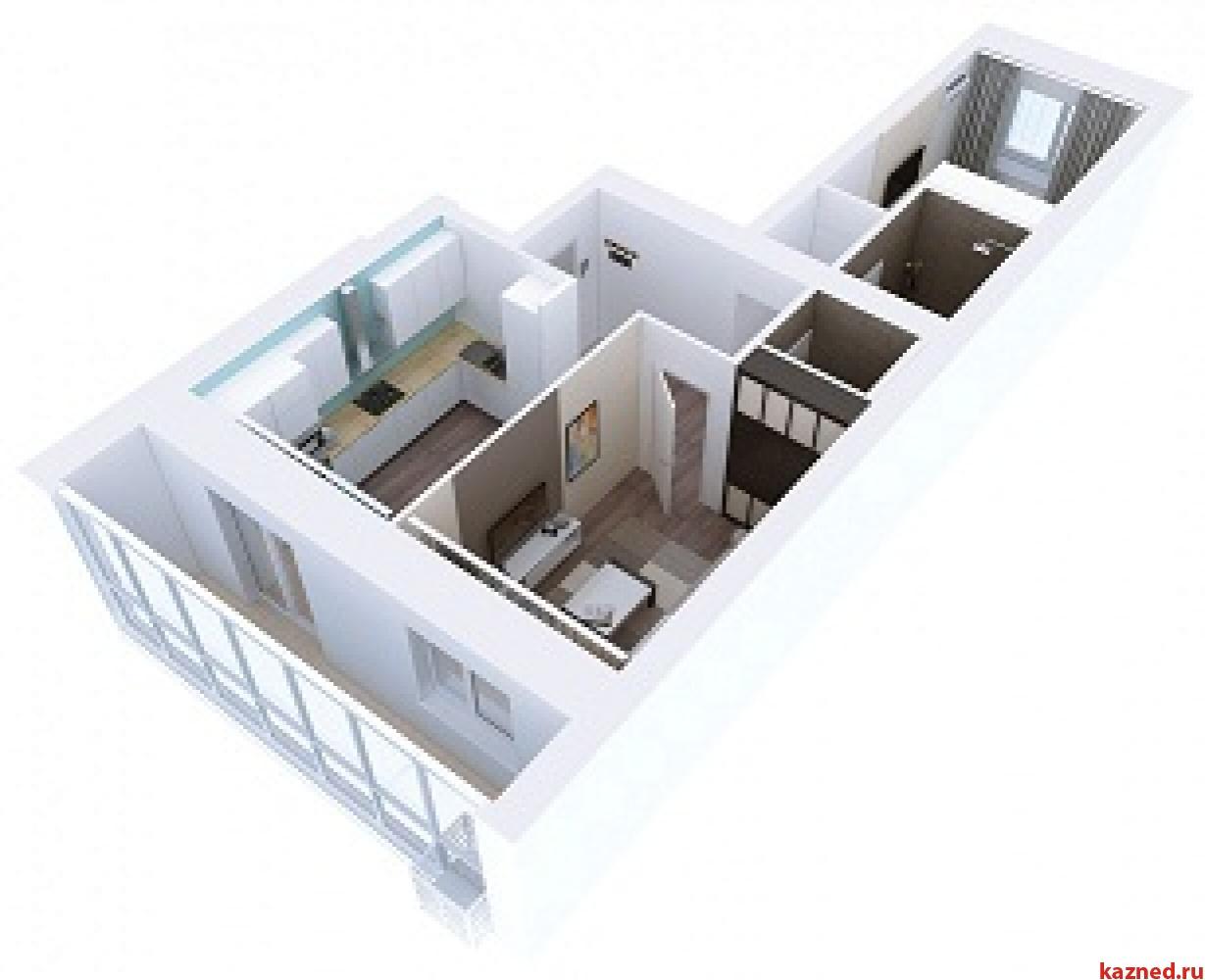 Продажа 2-к квартиры Мамадышский тракт, 3, 54 м²  (миниатюра №3)