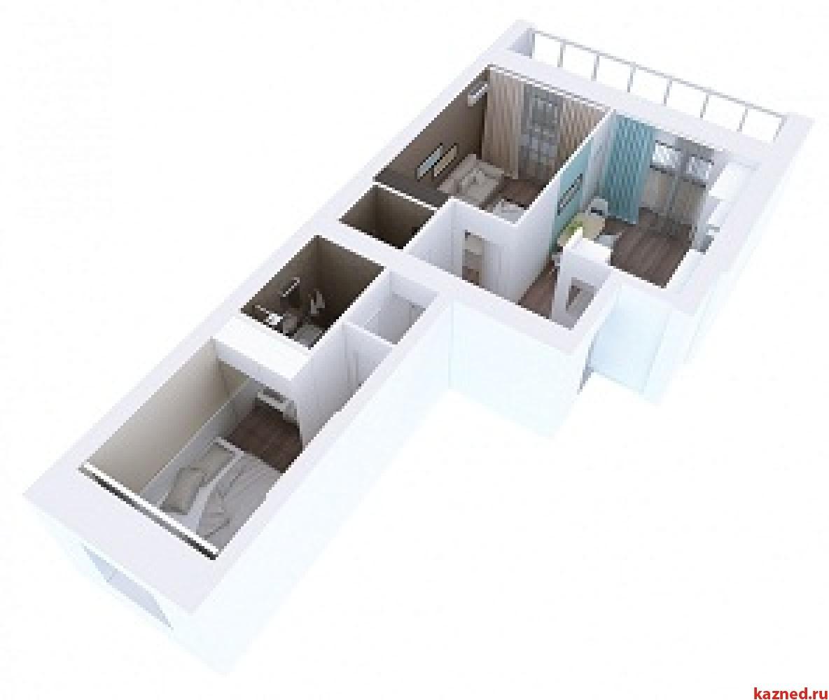 Продажа 2-к квартиры Мамадышский тракт, 3, 54 м²  (миниатюра №5)