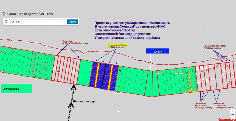 На р.Каме-В Черте города-Продажа Земельных участков ИЖС от 10соток до  (миниатюра №4)