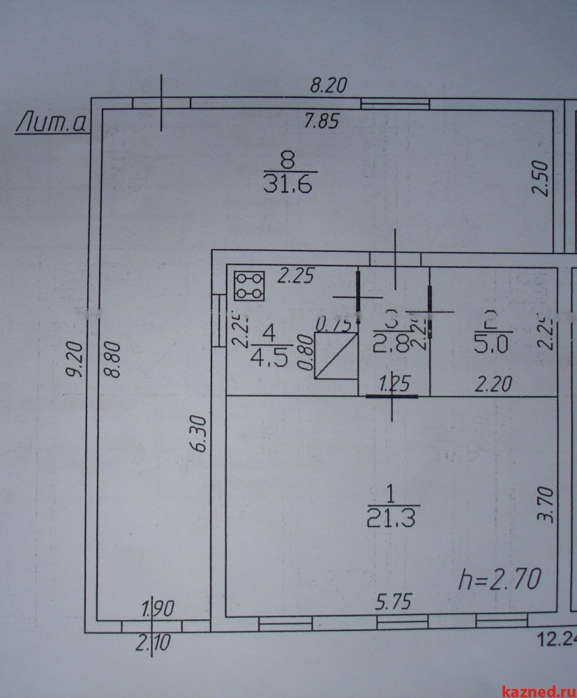 Продажа  дома Фрунзе, 65 м² (миниатюра №8)