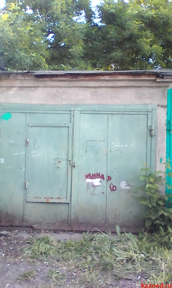 Продажа  гаража Шамиля Усманова,во дворе д.12,граничит с гимназией 94, 24 м2  (миниатюра №1)